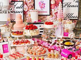 バービー×苺スイーツビュッフェ「ストロベリーホリック~Barbie in Paris~」春メニュー加え追加開催