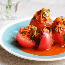 トマトのキムチ!?さっぱり旨辛「丸ごとトマトの浅漬けキムチ」の作り方