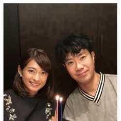 """モデルプレス - 藤井隆&乙葉夫妻、結婚13周年 """"ホット""""な2ショットで報告「毎日感謝でいっぱい」"""