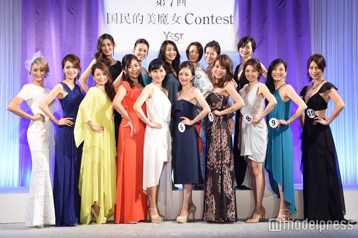 『第7回 国民的美魔女コンテスト』より(C)モデルプレス