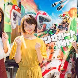 (左から)田本詩織さん、荒谷柚風さん、末吉瞳さん(C)モデルプレス