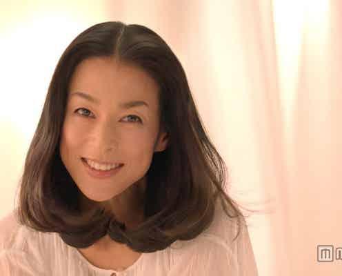 """鈴木保奈美、休養後初のCMで""""オトナ可愛い""""全開"""