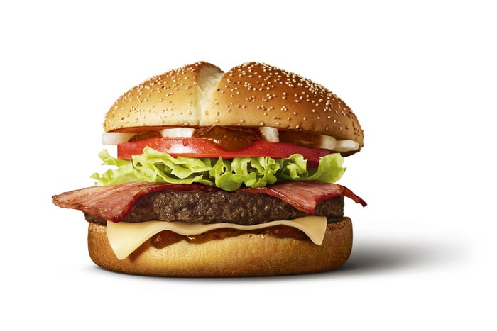 炙り醤油風ベーコントマト肉厚ビーフ/画像提供:日本マクドナルド