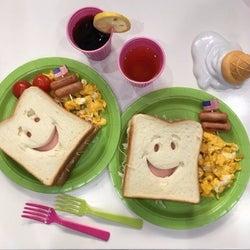 ぺこがりゅうちぇるのために作った朝食が「超可愛い」と話題