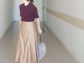 ファッショニスタ直伝!秋冬ロングフレアスカートを大人きれいめに着るコツ