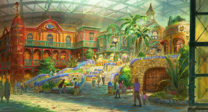ジブリの大倉庫エリア(C)Studio Ghibli