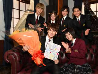 (前列左から)平野紫耀、杉咲花、(後列左から)鈴木仁、今田美桜、濱田龍臣、中田圭祐(C)TBS