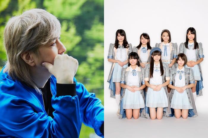 小室哲哉(画像提供:テレビ朝日)×ラストアイドル(C)ラストアイドル製作委員会