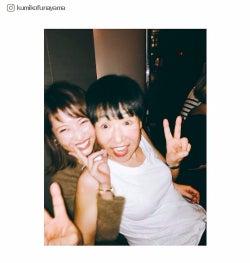 """くみっきー、和田アキ子と密着2ショット """"アッコファミリー""""に「感謝しかない」"""