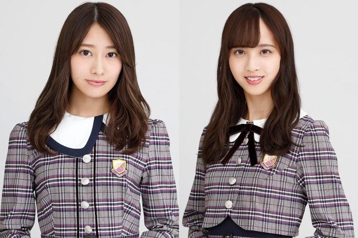 (左から)桜井玲香、佐藤楓(画像提供:ニッポン放送)