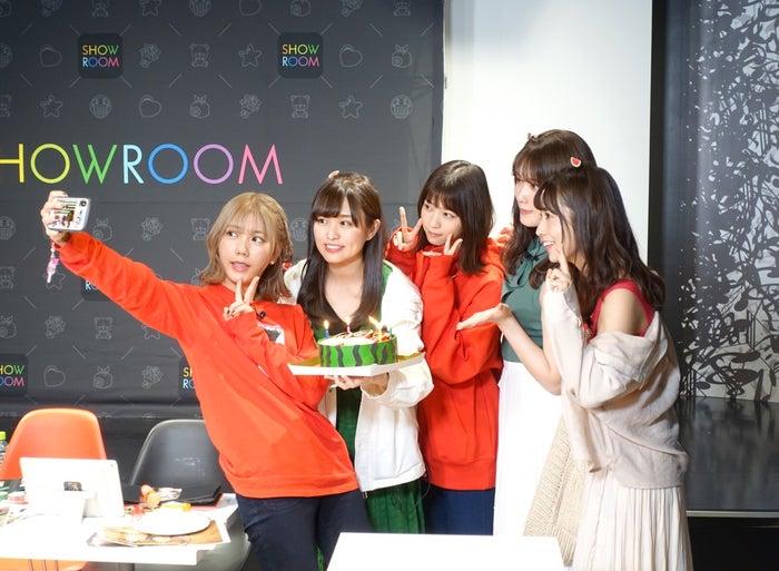 (左から)川後陽菜、伊藤かりん、西野七瀬、伊藤純奈、斉藤優里(提供写真)