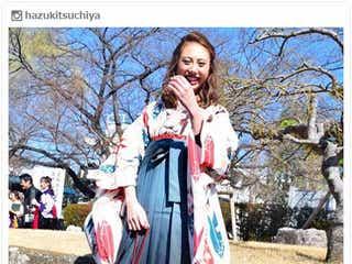 土屋巴瑞季、レトロな袴姿で大学卒業を報告 祝福の声続々