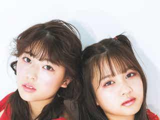 乃木坂46岩本蓮加「LARME」初登場で中村麗乃と競演 可愛いコスメを紹介