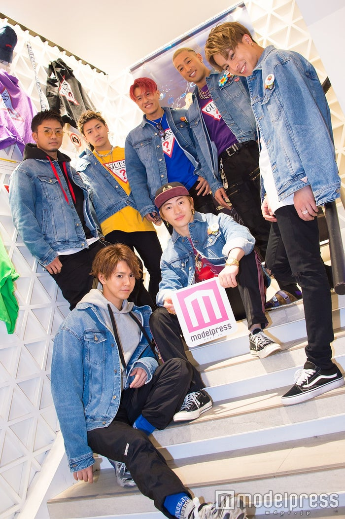 GENERATIONS from EXILE TRIBE(C)モデルプレス