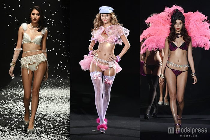 SEXYランジェリーお披露目「Ravijour」10周年で初のファッションショーを開催 【モデルプレス】