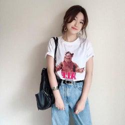 プリントTシャツのこなれカジュアルコーデ14選|何枚あっても嬉しい!