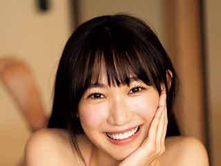 NMB48原かれん、モデル顔負けのスレンダーボディ披露