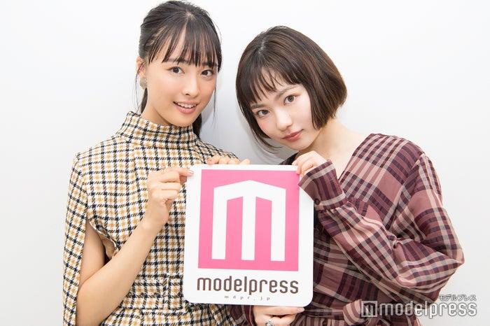 大友花恋・山田杏奈 (C)モデルプレス
