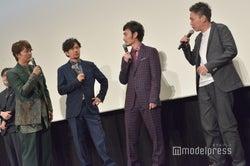 香取慎吾、稲垣吾郎、草なぎ剛、太田光監督(C)モデルプレス