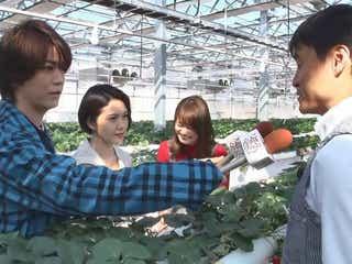 二階堂ふみ&亀梨和也はいちごの食リポ フジテレビ新ドラマ出演者がリポーターに挑戦
