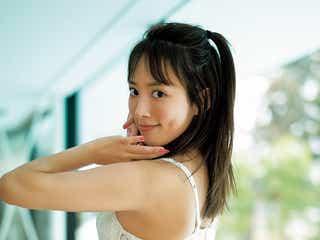 夏菜、結婚後初で8年ぶりグラビア ランジェリー姿で美ボディ披露