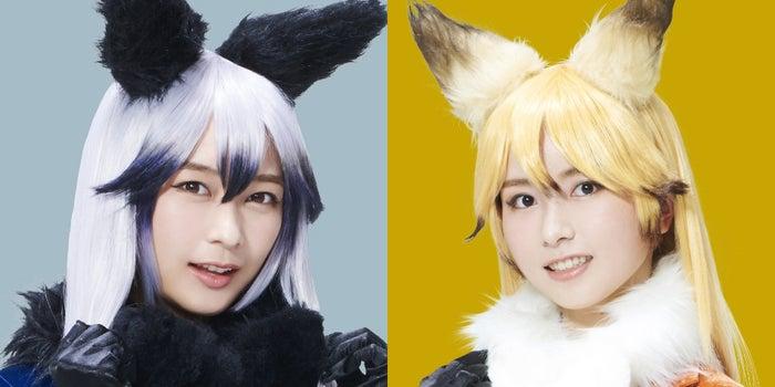 (左から)鈴木絢音、佐々木琴子(C)けものフレンズプロジェクト2S