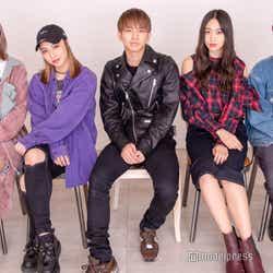 lol(左から)hibiki、honoka、友祐、moca、直人(C)モデルプレス