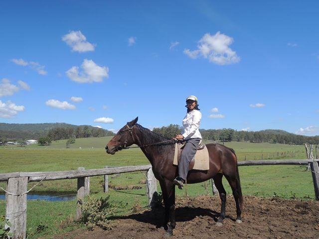 牧場ならではのアクティビティが種類豊富に揃う「ガムナッツファーム」(参加者撮影)