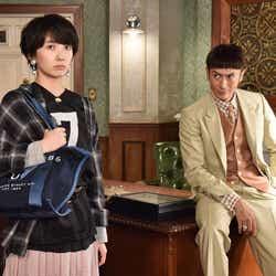 波瑠・伊勢谷友介/「サバイバル・ウェディング」第1話より(C)日本テレビ