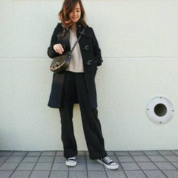 定番アウター「ダッフルコート」の着まわしコーデ特集!子どもっぽく見えない着こなし方のポイントは?