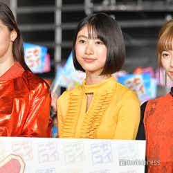 (左から)中条あやみ、池間夏海、島崎遥香(C)モデルプレス