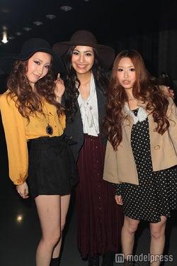 (左から)田辺音羽さん、須川未来さん、佐竹菜奈さん