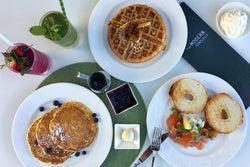 海が見える特等席「ザ・グローブ」で優雅な朝食を