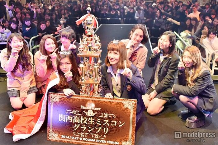 「関西女子高校生ミスコン2014」ファイナリスト/昨年末開催