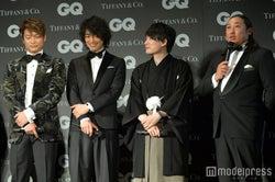 香取慎吾、斎藤工、佐藤天彦、秋山竜次(C)モデルプレス