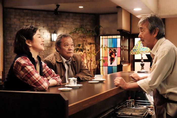 鈴木京香、西田敏行、寺尾聰/「琥珀」より(C)テレビ東京