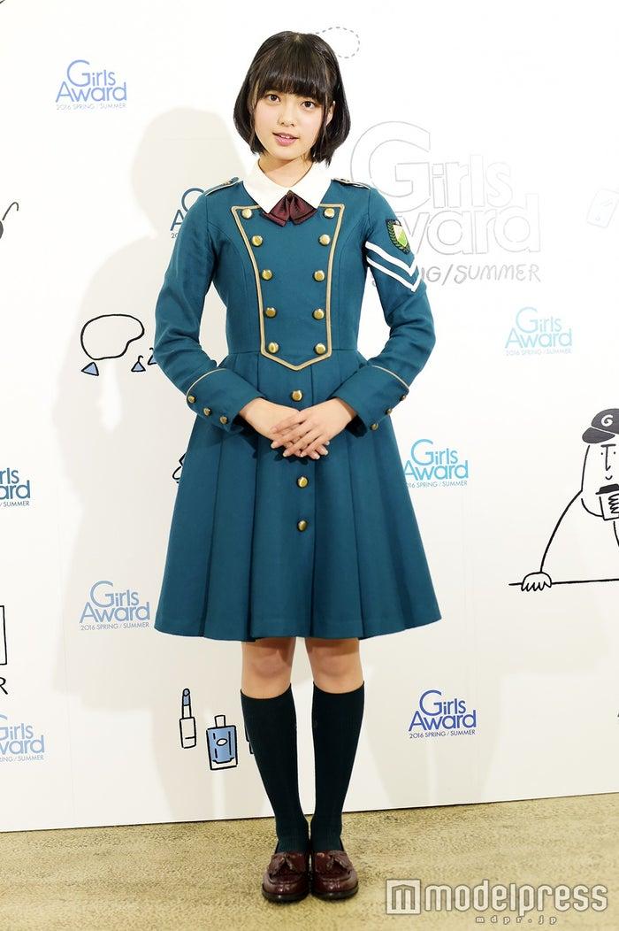 取材に応じた、欅坂46センター平手友梨奈(C)モデルプレス