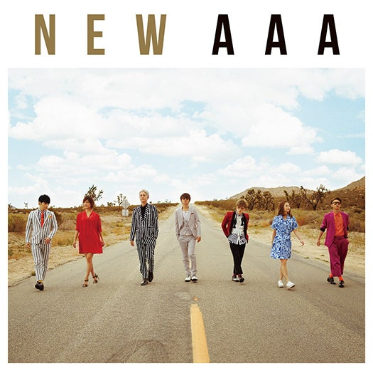 AAAの51枚目のシングル『NEW』(6月8日発売)CD+DVD