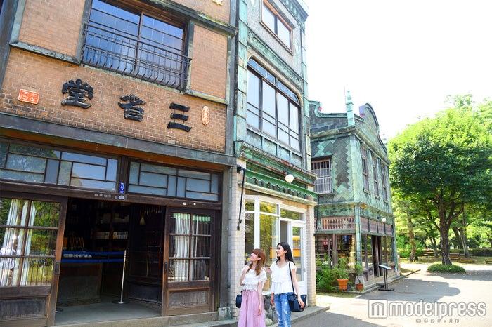 レトロな外観が可愛い 江戸東京たてもの園/武居三省堂(C)モデルプレス