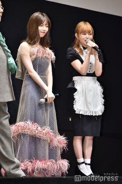 島崎遥香、益若つばさ(C)モデルプレス