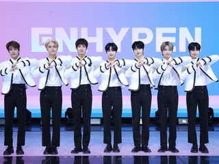 "ENHYPEN、""先輩""BTS・SEVENTEENからアドバイス「K-POPを世界に広く知らせるグループになりたい」意気込み語る<デビューショーケース>"
