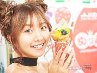れいたぴ(山田麗華)「すごく好き」 旬のフルーツ&贅沢スイーツに熱視線