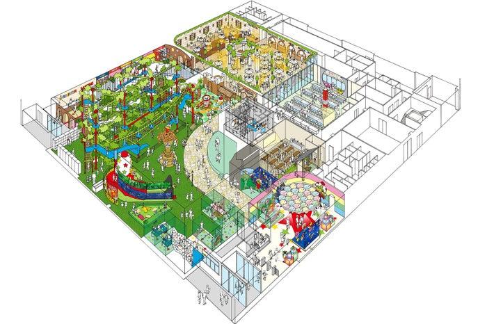 園内設計図/画像提供:おやつタウン