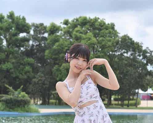 煌めき☆アンフォレント・白瀬乃愛が水着撮影会に登場「自然に楽しむことができました!」<近代麻雀水着祭>
