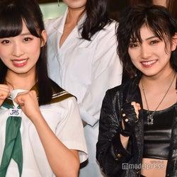 "AKB48小栗有以、スカートの中の""百合""「見えるかも」 岡田奈々とアクションで激闘<舞台版「マジムリ学園」>"