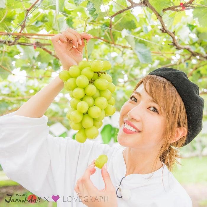 くみっきーが新鮮フルーツでパフェ作りに挑戦(写真提供:MBS)