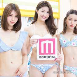 山本成美、福良真莉果、樽見麻緒(C)モデルプレス