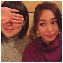 桐谷美玲&ブルゾンちえみ、仲良しプライベートショットに「癒やされる」の声続出