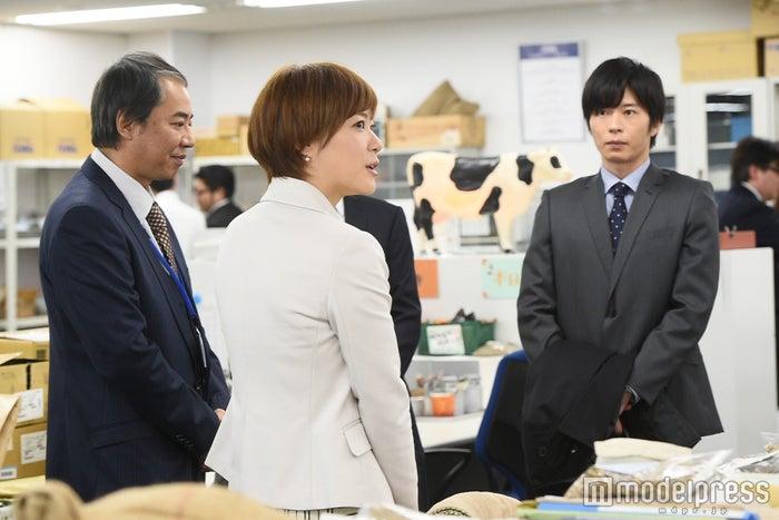 上野樹里、田中圭「家族ノカタチ」第5話場面カット/画像提供:TBS