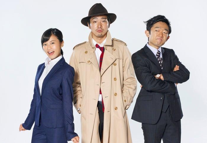 小島瑠璃子(左)がドラマ初挑戦 柄本佑(中央)、えなりかずき(右)/(C)TBS